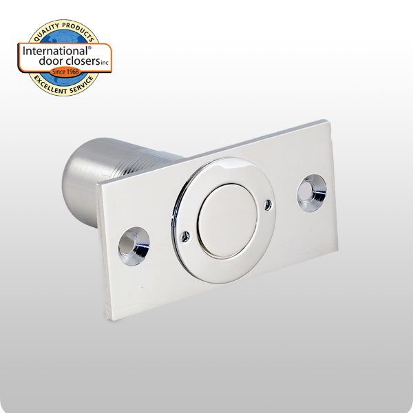 Dust Proof Strike Polished Chrome Finish Intl Door
