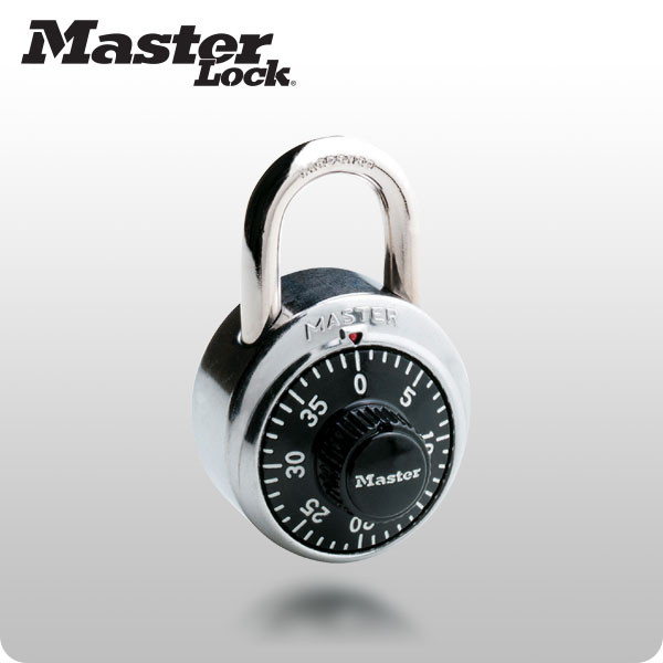 Black Dial Combination Lock (Master Lock)