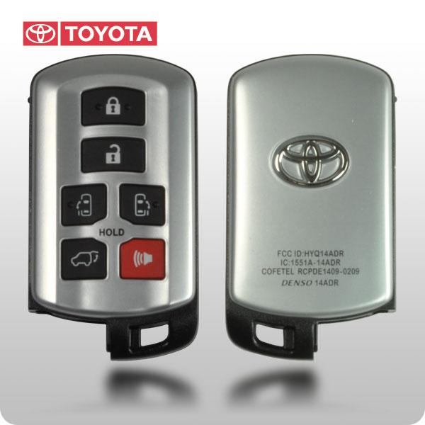 Toyota Sienna 2011 2017 Smart Key Oem Toy 89904 08010