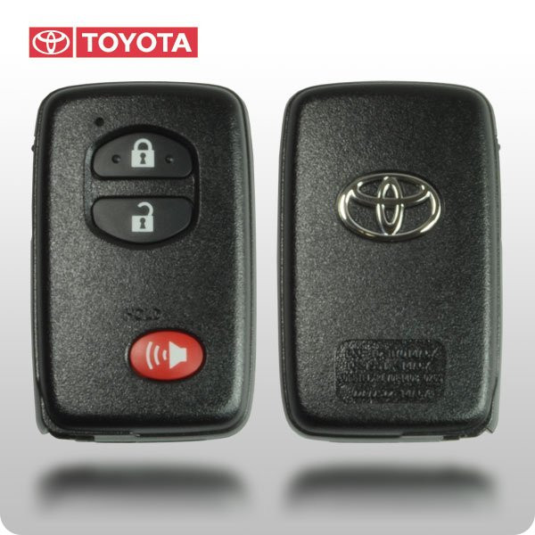 toyota highlander 07 14 rav4 08 10 4runner 2011 smart key oem toy 89904 48100. Black Bedroom Furniture Sets. Home Design Ideas