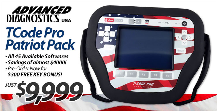 TCode Pro Patriot Pack